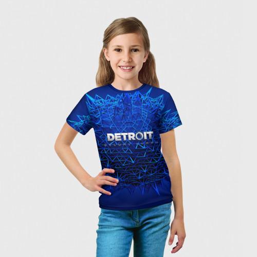 Детская футболка 3D  Фото 03, Detroit:become human
