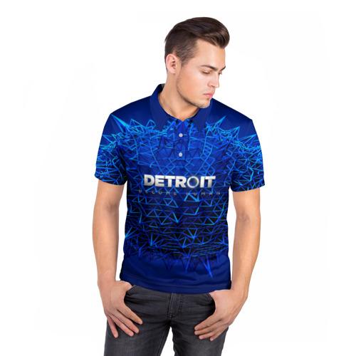 Мужская рубашка поло 3D  Фото 05, Detroit:become human