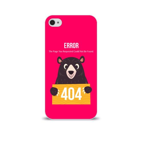 Чехол для Apple iPhone 4/4S soft-touch  Фото 01, Ошибка 404