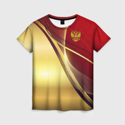 RUSSIA SPORT: Red and Gold.