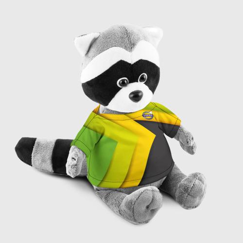 Игрушка Енотик в футболке 3D VOLVO. Фото 01