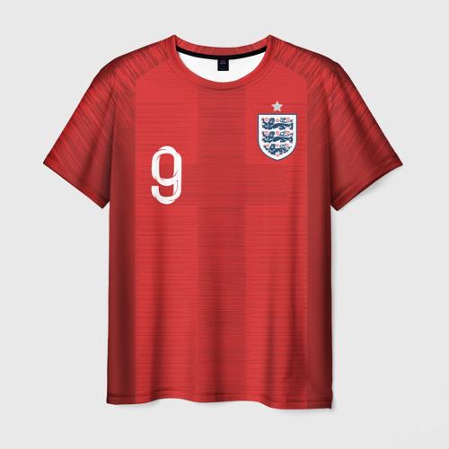 Мужская футболка 3D Kane away WC 2018