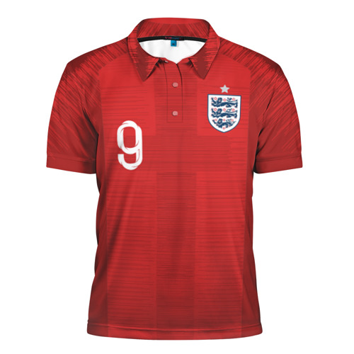 Мужская рубашка поло 3D Kane away WC 2018