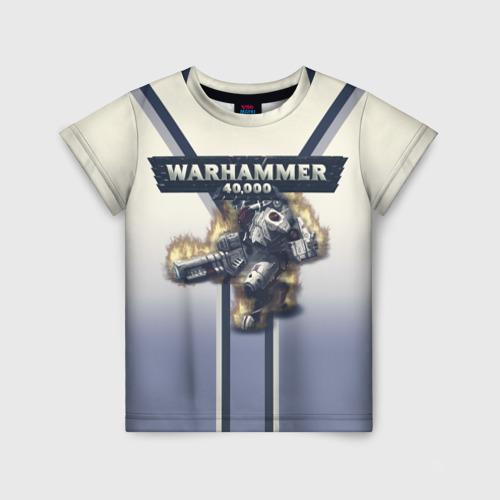 Детская футболка 3D Warhammer 40000: Tau Empire Фото 01