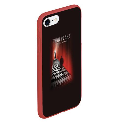 Чехол для iPhone 7/8 матовый Твин Пикс Фото 01