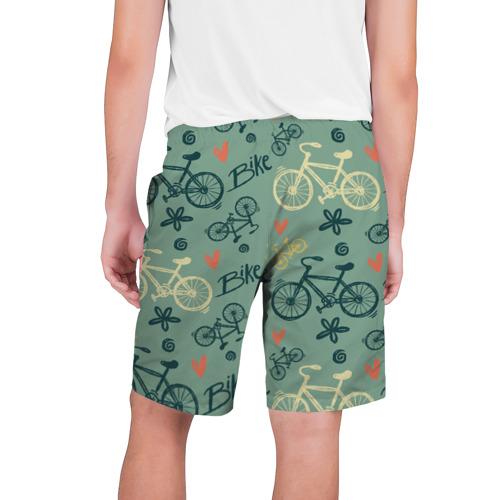 Мужские шорты 3D  Фото 02, Велосипед Текстура