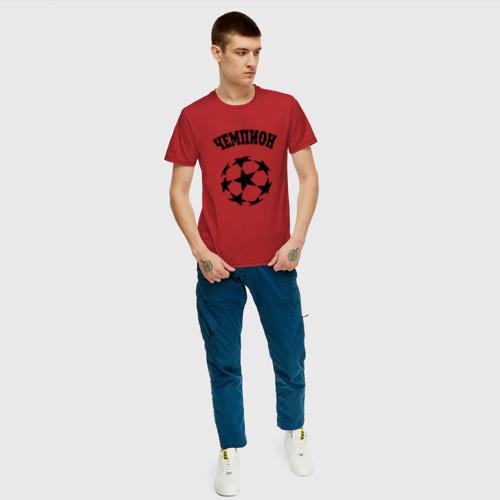 Мужская футболка хлопок Чемпион Фото 01