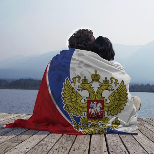 Плед 3D Россия Спорт Фото 01