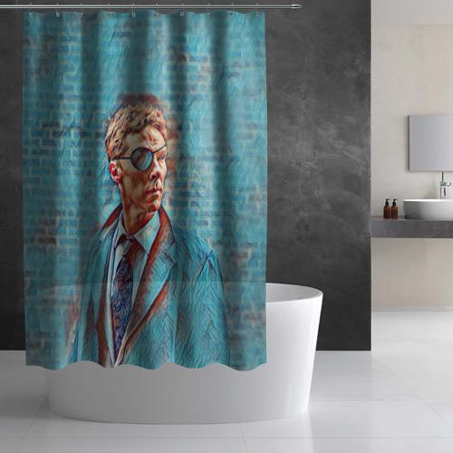 Штора 3D для ванной Melrose Фото 01