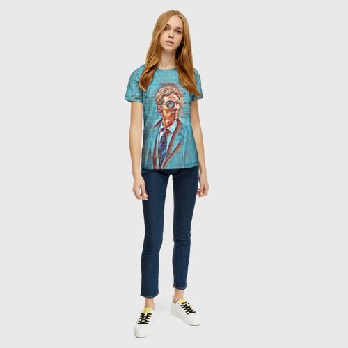 Женская футболка 3D Melrose Фото 01