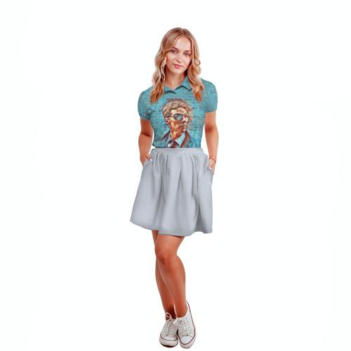 Женская рубашка поло 3D Melrose Фото 01