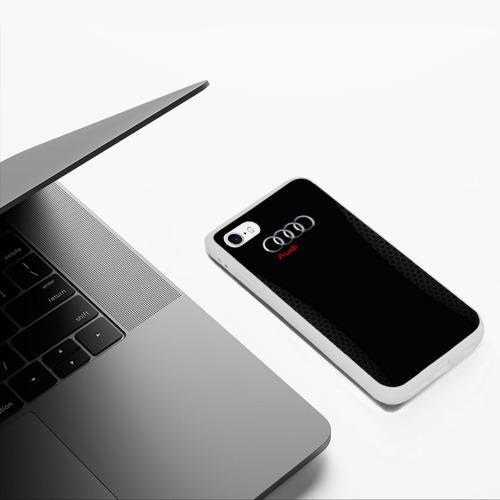 Чехол для iPhone 6/6S матовый Ауди Фото 01