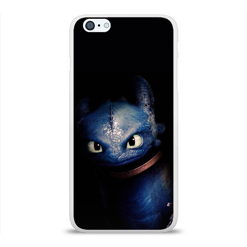 Чехол для Apple iPhone 6Plus/6SPlus силиконовый глянцевый как приручить дракона Фото 01