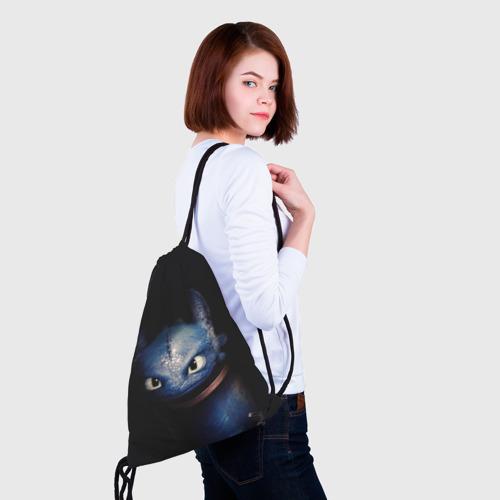 Рюкзак-мешок 3D как приручить дракона Фото 01