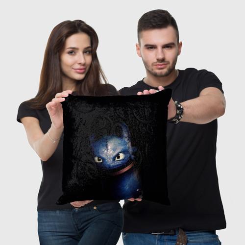 Подушка 3D как приручить дракона Фото 01