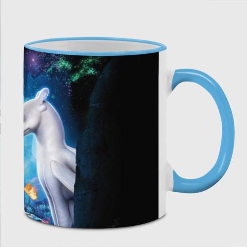 как приручить дракона, цвет: Кант небесно-голубой, фото 1