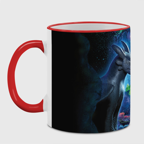 как приручить дракона, цвет: Кант красный, фото 11
