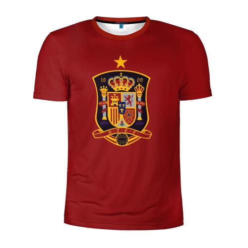 Мужская футболка 3D спортивная Сборная Испании