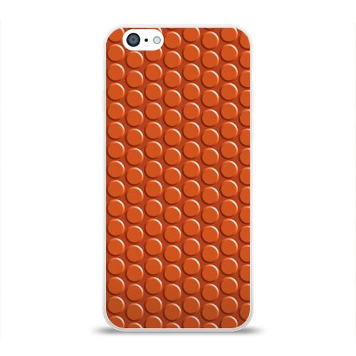 Чехол для Apple iPhone 6 силиконовый глянцевый  Фото 01, Баскетбол