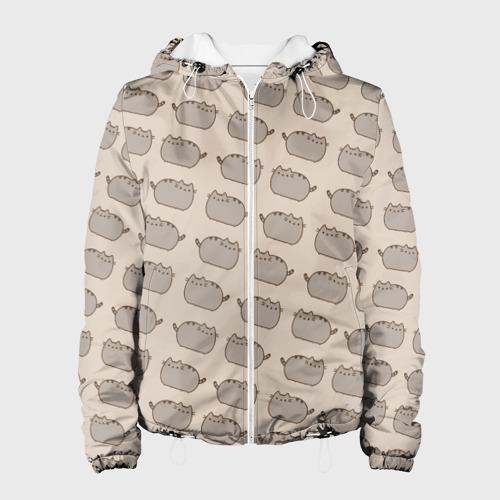 Женская куртка 3D Pusheen Паттерн