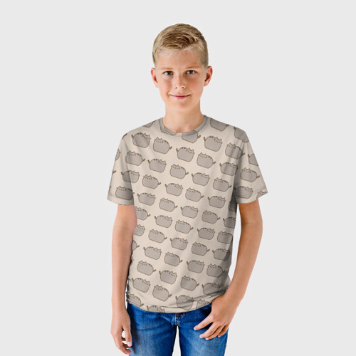 Детская футболка 3D Pusheen Паттерн