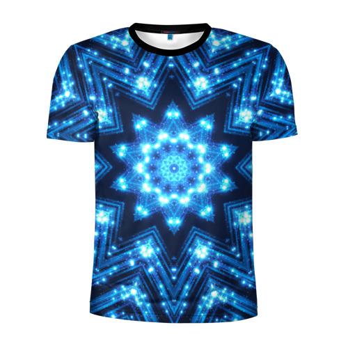 Мужская футболка 3D спортивная Звезда
