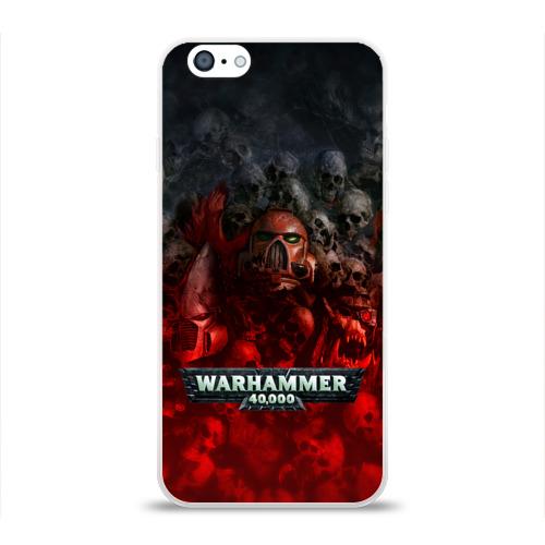 Чехол для Apple iPhone 6 силиконовый глянцевый  Фото 01, Warhammer 40000: Dawn Of War