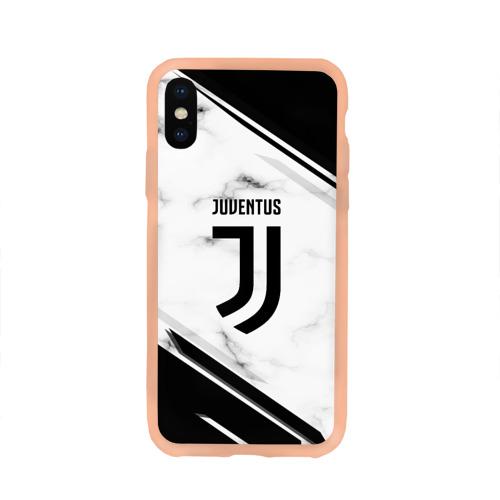 Чехол для iPhone X глянцевый Juventus Фото 01