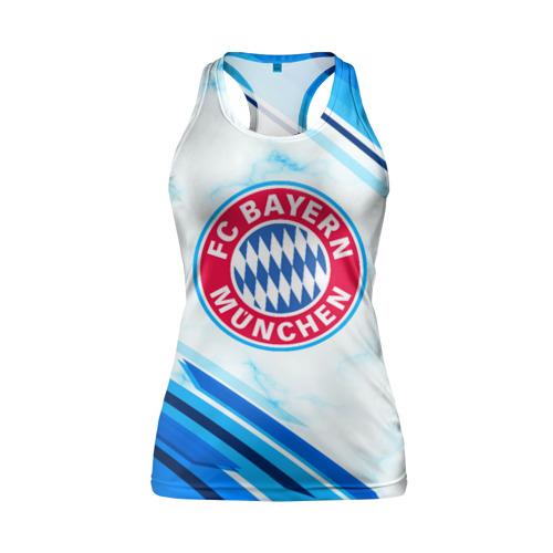 Женская майка 3D спортивная  Фото 01, Bayern Munchen