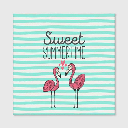 Холст квадратный  Фото 02, Sweet Summer Time