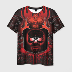 Red Flame Skull