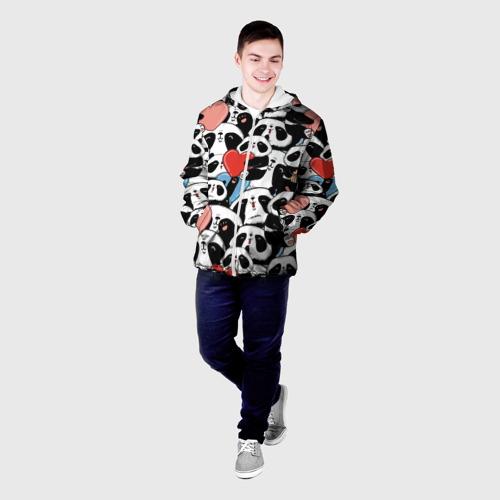 Мужская куртка 3D  Фото 03, Пандяшки