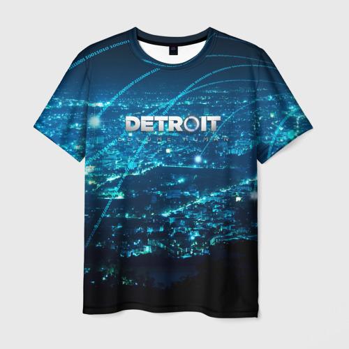 Мужская футболка 3D Detroit:become human