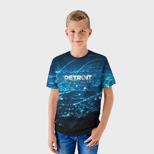 Детская футболка 3D  Фото 01, Detroit:become human