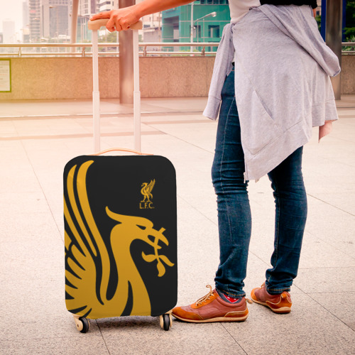Чехол для чемодана 3D LIVERPOOL SPORT Фото 01