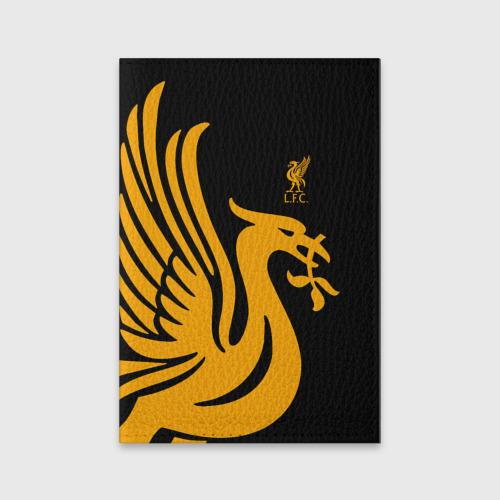 Обложка для паспорта матовая кожа LIVERPOOL SPORT Фото 01
