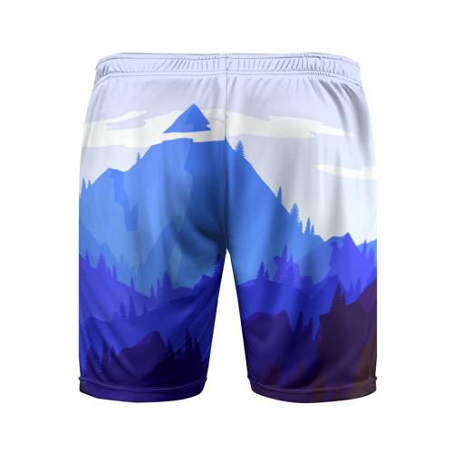 Мужские шорты 3D спортивные  Фото 02, Firewatch
