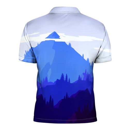 Мужская рубашка поло 3D  Фото 02, Firewatch