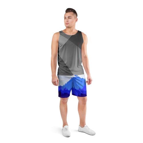 Мужские шорты 3D спортивные  Фото 04, Firewatch