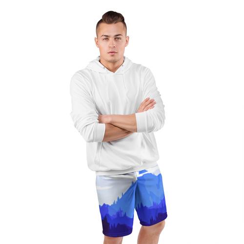 Мужские шорты 3D спортивные  Фото 05, Firewatch
