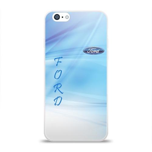 Чехол для Apple iPhone 6 силиконовый глянцевый FORD Фото 01