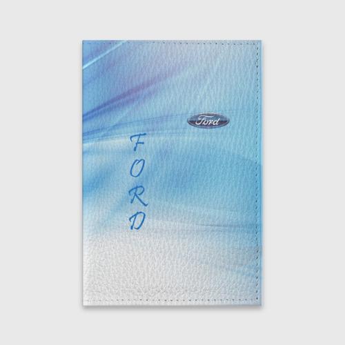 Обложка для паспорта матовая кожа FORD Фото 01