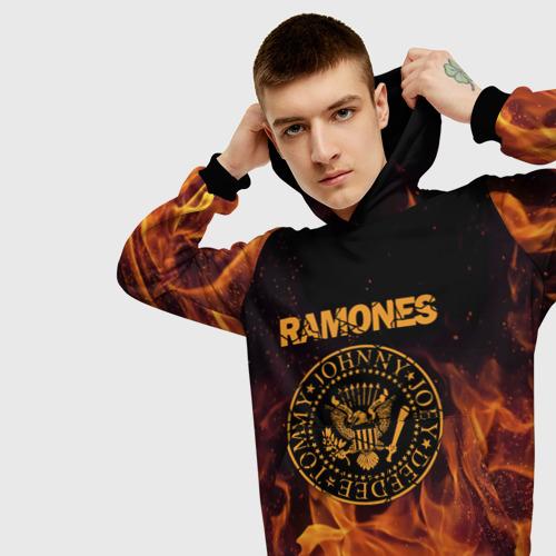 Мужская толстовка 3D Ramones Фото 01