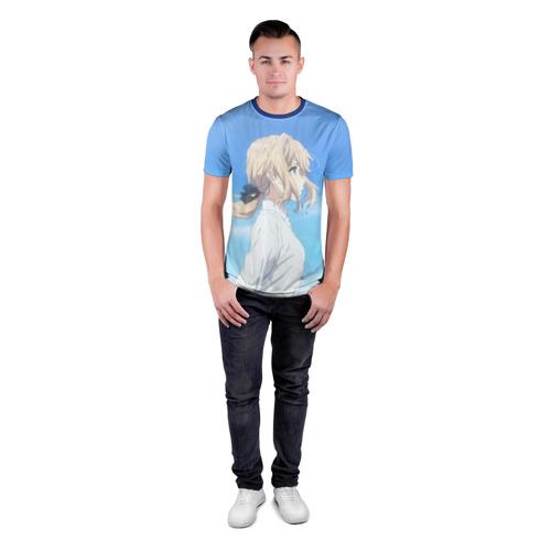 Мужская футболка 3D спортивная Violet Evergarden Фото 01