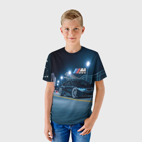 Детская футболка 3D BMW AUTO SPORT