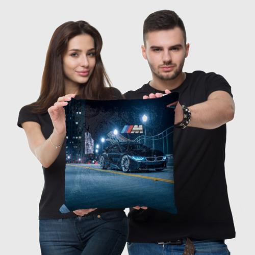 Подушка 3D BMW. Фото 01