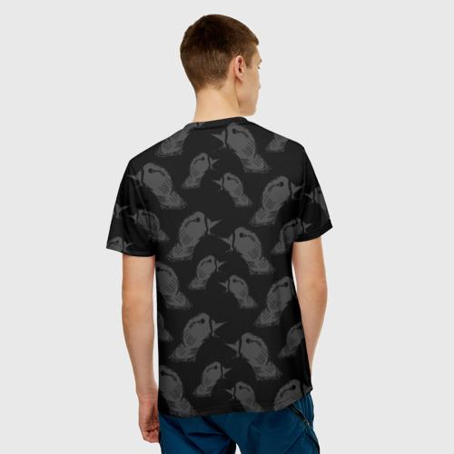 Мужская футболка 3D Гуси