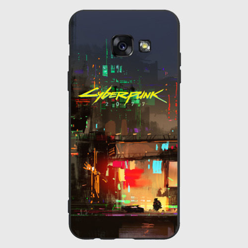 Чехол для Samsung A5 Cyber Punk 2077 Фото 01