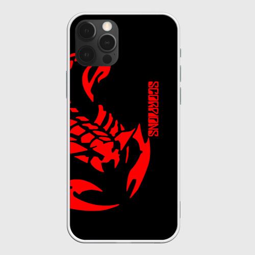Чехол для iPhone 12 Pro Max Scorpions Фото 01