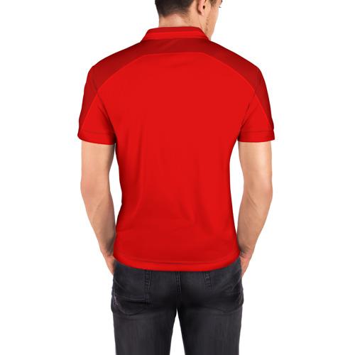 Мужская рубашка поло 3D  Фото 04,  Домашняя форма Дании 2018